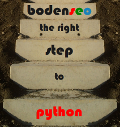 Bodenseo step to python